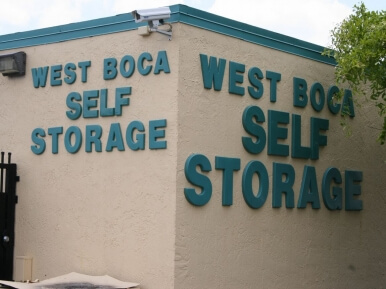 West Boca Self Storage - Boca Raton Florida